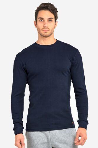 Men/'s Thermal Shirt Long Sleeve Medium Weight Waffle Knit Warm Layering