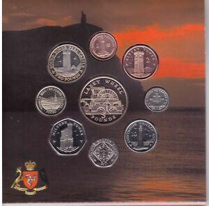 UK UNITED KINGDOM 12 DIF BU COINS SET 0.01-5 POUND 2011 YEAR MINT PACK