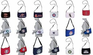 MLB-Jersey-Tote-Bag-Purse-Major-League-Baseball-Adjustable-Strap-Pick-Your-Team