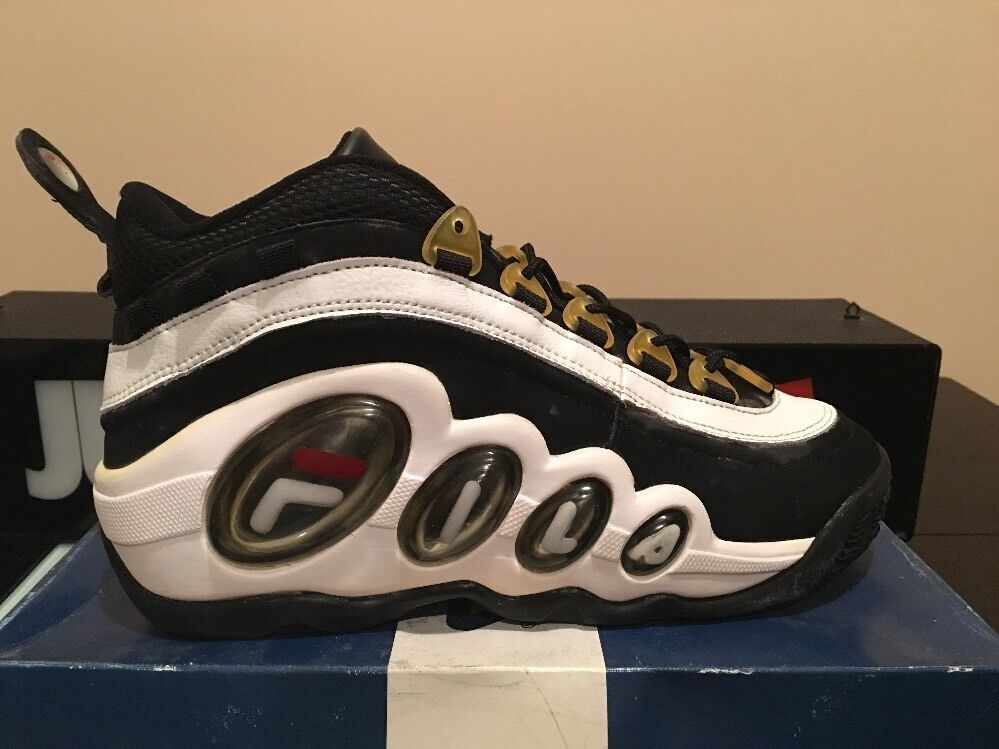 FILA BUBBLES MID SIZE 10.5 DS OG VINTAGE HILL STACKHOUSE NBA KICKS ON COURT PE Brand discount