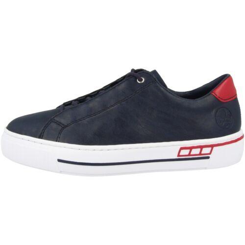 Rieker L8834 Schuhe Women Damen Antistress Freizeit Sneaker Halbschuhe Schnürer