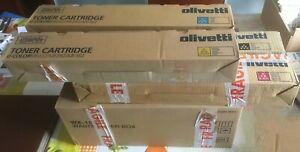 Olivetti Lot 4 Toner (a33k1l0 - A33k2lo - A33k3lo - A33k4l0) + Waste