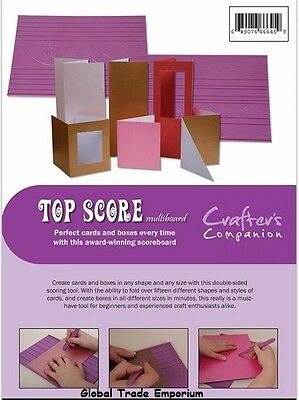 Crafters Companion Ultimate Pro Embossing Board  Boutique Boxes FREE UK P/&P