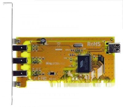 Adattatore Pci 4x Firewire [3535]- Ultima Tecnologia
