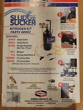 Uniweld 40002 Nitrogen Sludge Sucker Kit Refrigerant Purge Condensate Lines