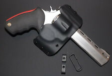 Black Kydex Holster for Taurus Raging Bull 44 mag OWB  right-handed
