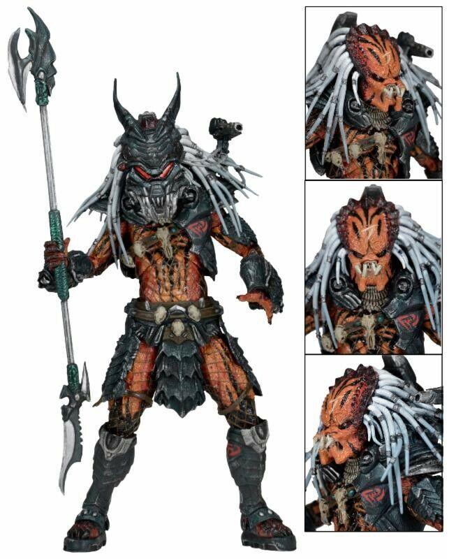 NECA Prödator Kenner Deluxe Clans Leader Action Figur