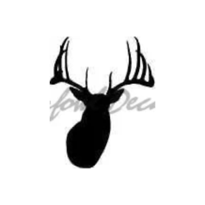 Image Is Loading Huge Buck Head Decal Large Whitetail Deer