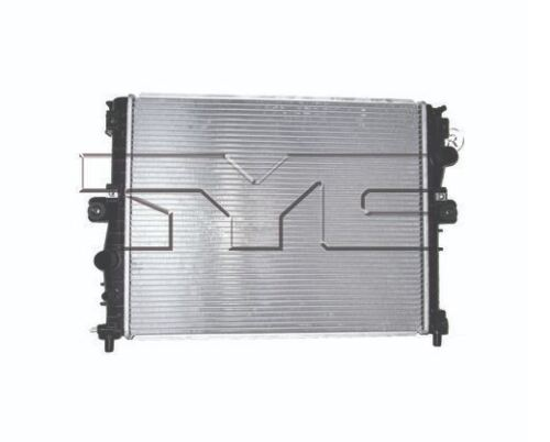 TYC 13453 Radiator Assy for Chevrolet Corvette 6.2L Stingray 2014-2017 Models