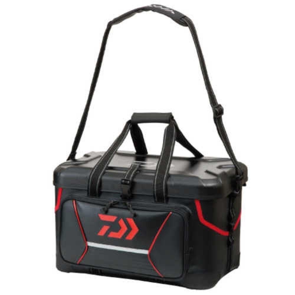 Daiwa FF 38 (K) Bolsa de aparejos de pesca Rojo + correa de hombro envío rápido de Japón EMS