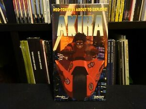 Akira-1994-VHS-video-tape-Orion-Home-Video-Anime-Animation-vintage-Sealed