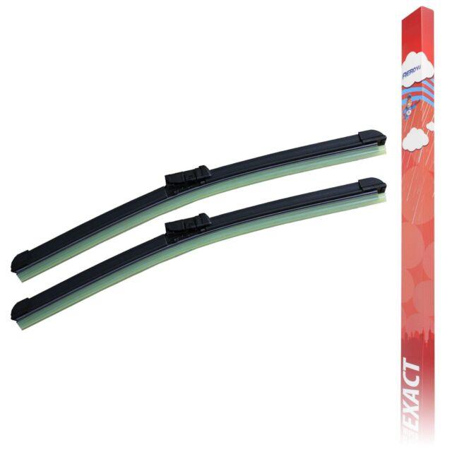 ACP Exact Specific Fit Front /& Rear Wiper Blades Window Windscreen Service Set
