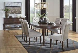 Ashley Furniture Adinton 7 Piece Oval, Ashley Furniture Dining Room Sets
