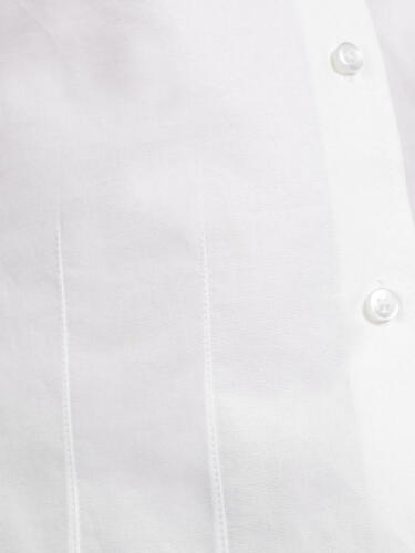 White John Lewis /& Partners Girls/' Long Sleeved Fitted Cotton Blouse//shirt