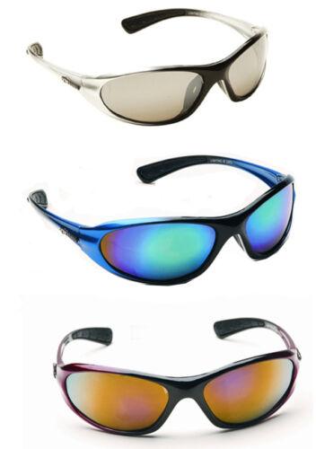 Mens Wrap Around Visor Sports Ski Biker Designer Sunglasses Black Red Silver New
