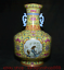 """miniature 8 - 11,6 """"Qianlong Marqué Old China Couleur Porcelaine Fleur Oiseaux Bouteille Vase"""