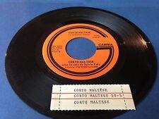 """SYLVIA FELS 45 """" Corto Maltese """" GAMMA Canada 1974'"""