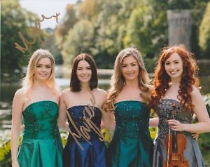 Mairead-Carlin-amp-Megan-Walsh-HAND-SIGNED-8x10-Photo-Autograph-Celtic-Woman