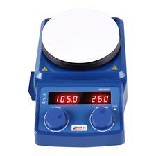 5 Hot Plate Magnetic Stirrer Mixer Stirring Lab 5l Dual Control 100 1500rmin