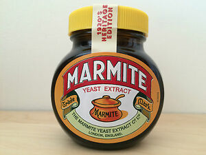 Collectable-New-Sealed-Marmite-Limited-Edition-1920s-Heritage-jar-FREE-UK-P-P