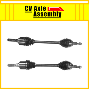 """Rear Pair CV Axle 2 PCS For 2003-2006 FORD EXPEDITION With 9.75/"""" Ring Gear"""