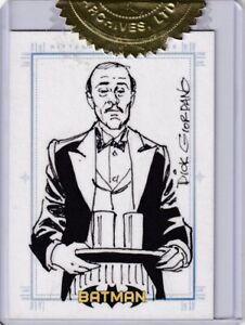 Batman-Archives-Sketch-Card-by-Dick-Giordano-Alfred-Pennyworth