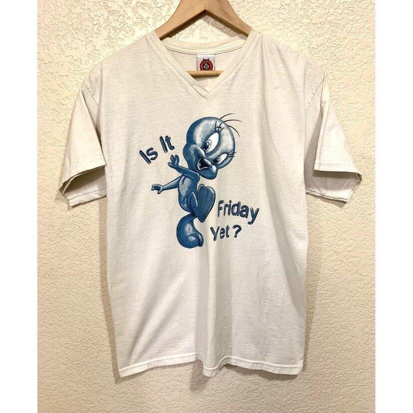 Looney Tunes Vintage 1997 Tweety Bird Shirt Women's size: Medium