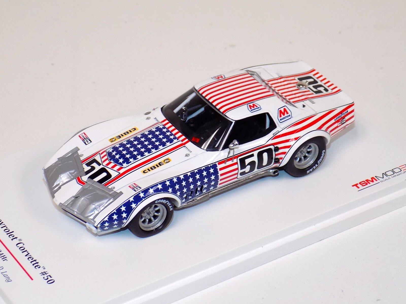 1 1 1 43 True Scale Models TSM Chevrolet Corvette ZL1 1971 Daytona car TSM104324 21bb46