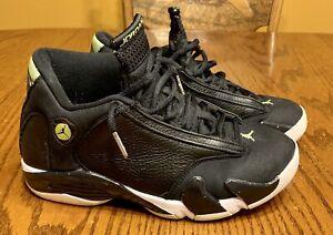 buy popular 9846e 9b103 Details about Nike Air Jordan Retro 14 XIV Indiglo Black OG Size 7 Men's