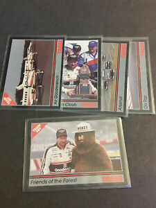 1991-Traks-Team-Set-of-5-Dale-Earnhardt-Cards-21-25
