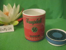 Dose 2 tlg 10 cm Campbell s Soup Red Andy Warhol von  Rosenthal