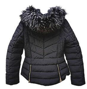 manteau doudoune court capche
