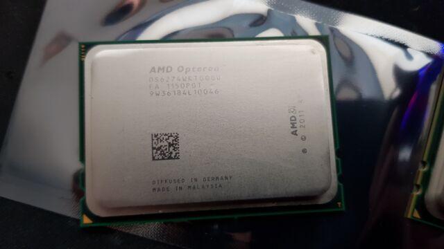 AMD OPTERON 6274 2.20GHZ 16MB OS6274WKTGGGU 16 CORE SOCKET G34 LGA1944 CPU