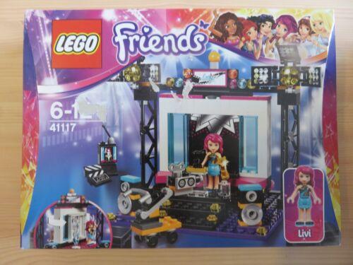 LEGO Friends 41117 Le Plateau TV Pop Star boîte légèrement abîmée