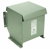 15 Kva Dry Type Distribution Transformer 3 Phase Isolation 240d 208y/120 Nema 3r