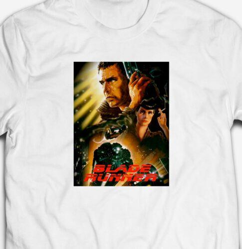 RETRO BLADE RUNNER CULT CLASSIC MOVIE FILM Mens-Fit 100/%Cotton T-shirt TEE Shirt