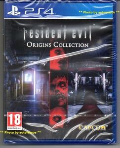 Resident-Evil-Origins-Collection-039-New-amp-Sealed-039-PS4-Four