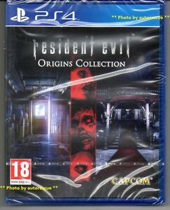 Resident-EVIL-ORIGINS-COLLECTION-034-NUOVO-amp-Sealed-039-PS4-quattro