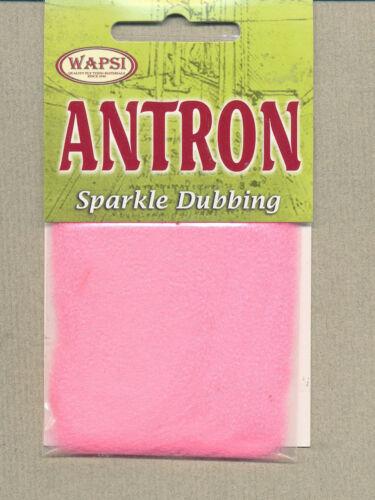 Antron Sparkle Dubbing fl pink     ANB510