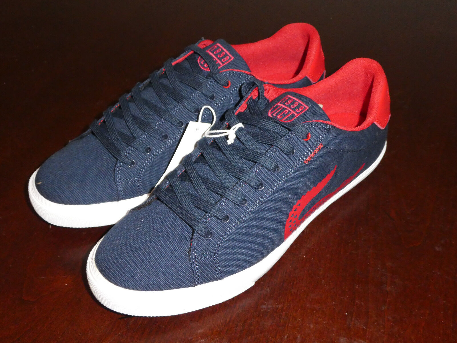 Lacoste Grad Grad Grad Vulc TSP US SPM CNV Uomo shoes New in box 7-29SPM00501P4 b1f37f