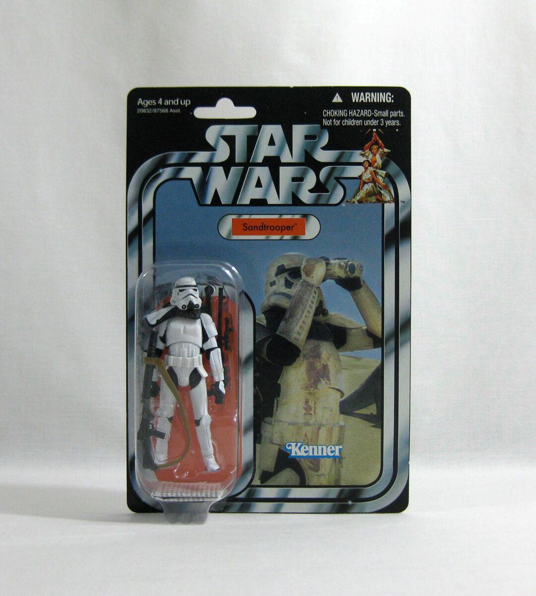 NEW 2010 Star Wars ✧ Sandtrooper ✧ Vintage Collection VC14 MOC
