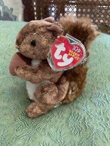 Ty 2002 Nutty Beanie Baby