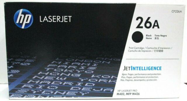 GENUINE HP LaserJet 26A Print TONER Cartridge - Black BRAND NEW SEALED  CF226A