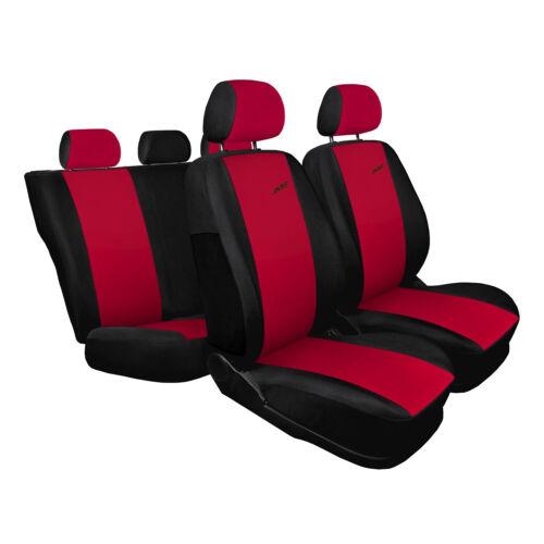 Skoda Fabia Rot Universal Sitzbezüge Sitzbezug Auto Schonbezüge XR