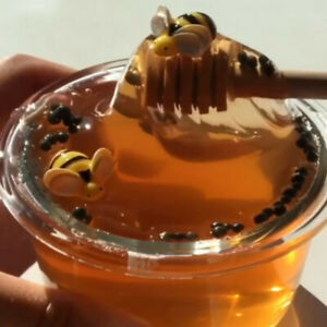 New-Honey-Bee-Crystal-Slime-Mud-Clay-Sludge-Toy-Stress-Relief-Kids-Toy-Gift-60ml