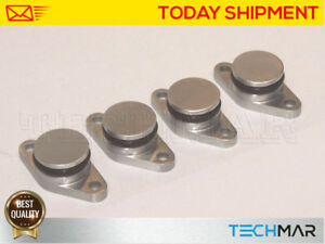 4 x 22 mm Swirl Flap Replacements Removal Blanks Delete Plug Plugs for BMW M47