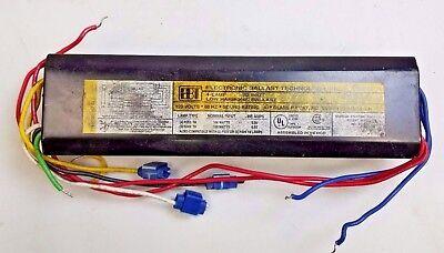 EBT SSB1-120-2//40 75/% LH Fluorescent Ballast for 2 F40T12 Lamps