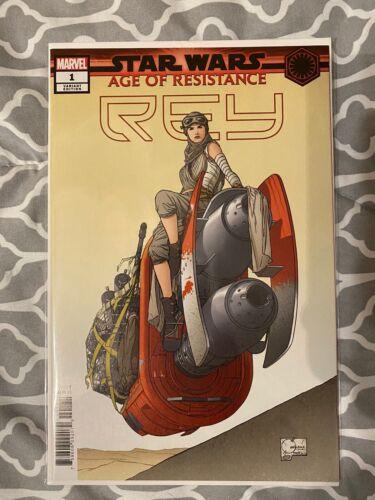 Star Wars Age of Resistance Rey #1-1:50 Joe Quesada Variant Marvel NM