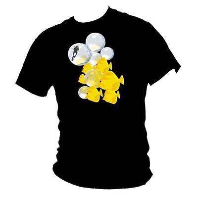 Yellow Tangs /& Scuba Diver Mens T-Shirt
