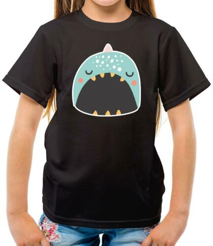 Gift Kids T-Shirt Animal Adorable Happy Face Narwhal Cute Narwhale